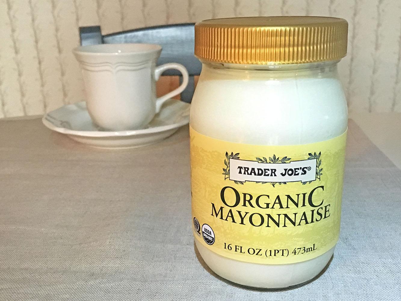 Trader Joes Organic Mayonnaise