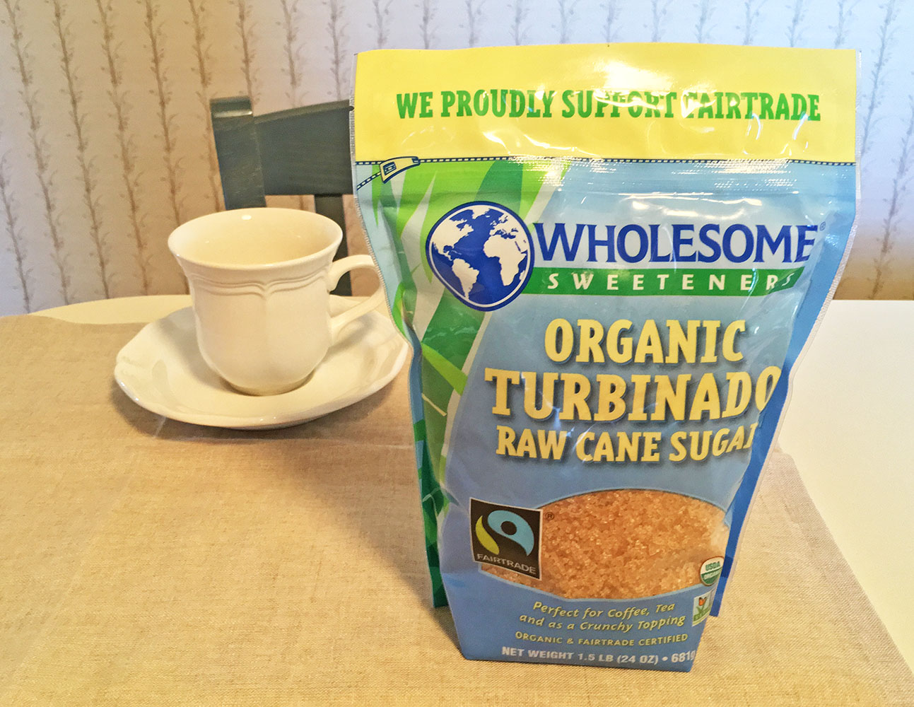 Wholesome Sweeteners Organic Turbinado Raw Cane Sugar