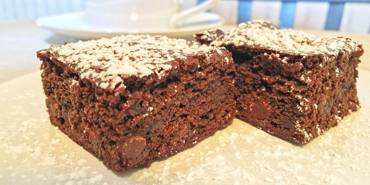 Chocolate Gingerbread Bars