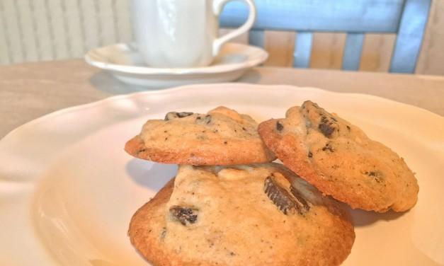 Chocolate Cream & White Chocolate Chip Cookies