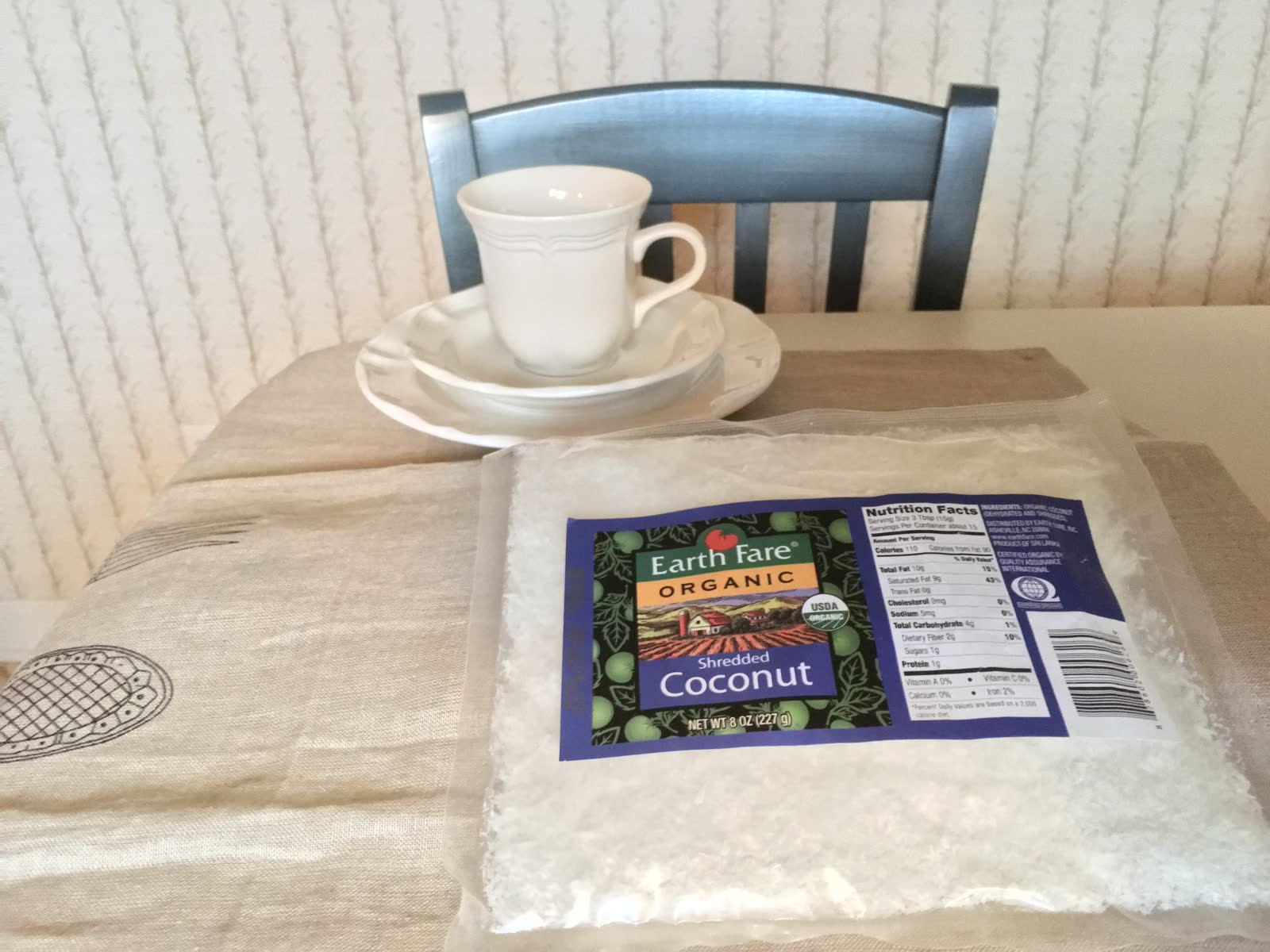 Earth Fare Organic Shredded Coconut