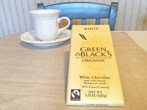 Green & Blacks Organic White Chocolate Bar