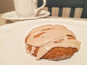 Iced Pumpkin Cookie