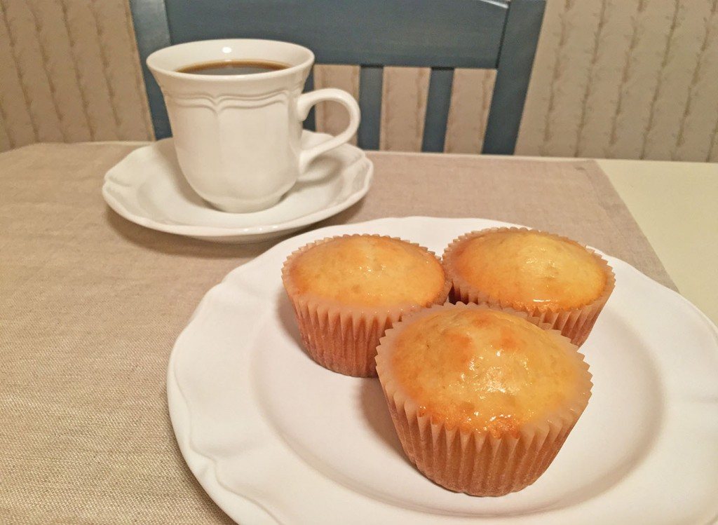 Lemon Muffin with Coffee