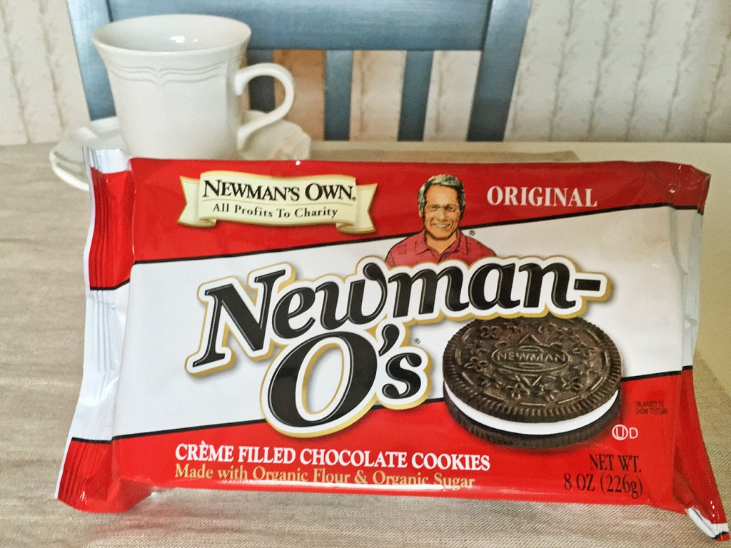 Newman O's Creme Filled Sandwich Cookies