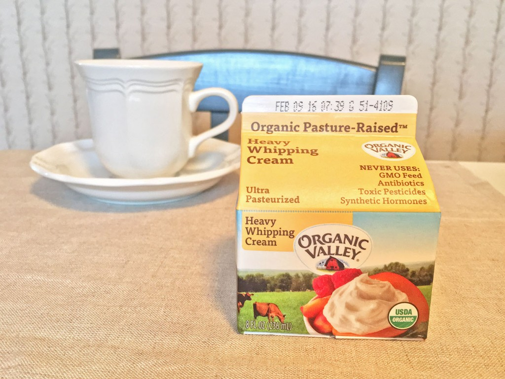 Organic Valley Whipping Cream