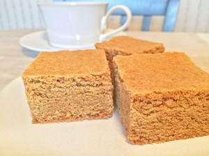 Peanut Butter Bars with Coffee
