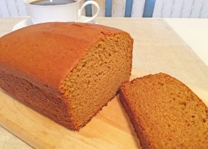 Sweet-Potato Poundcake Slice