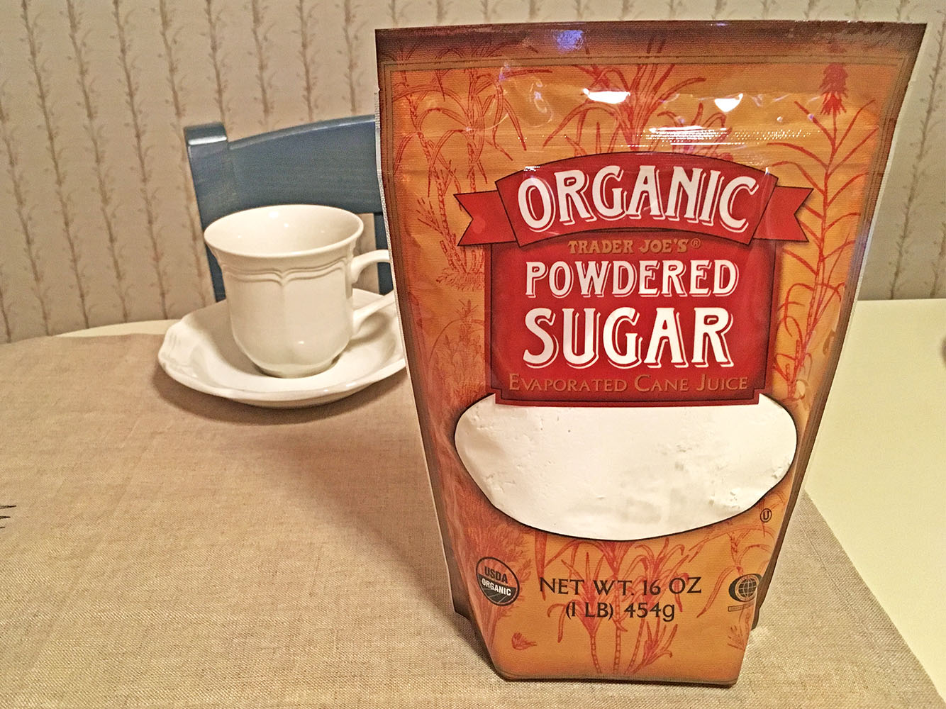 Trader Joes Organic Powdered Sugar