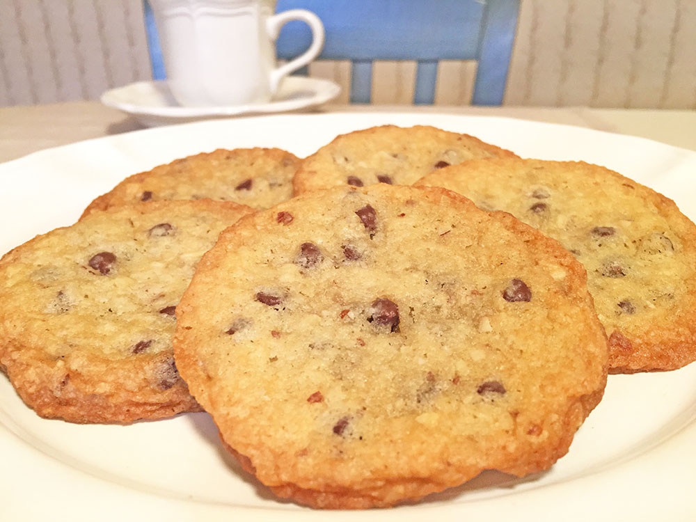 """Coconut Crunch Cookies"" from 5 O'Clock Coffee Club"