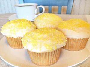 Pamelas Vanilla Cupcakes