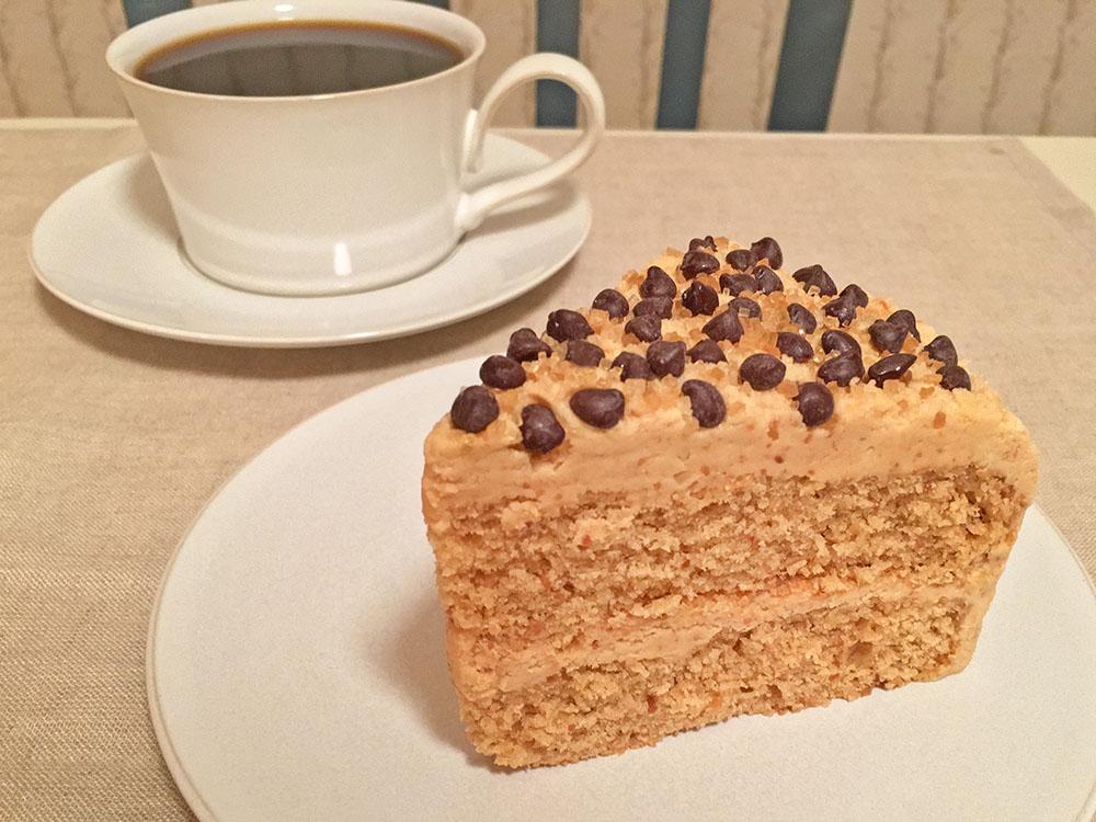 Peanut Butter Cake Slice