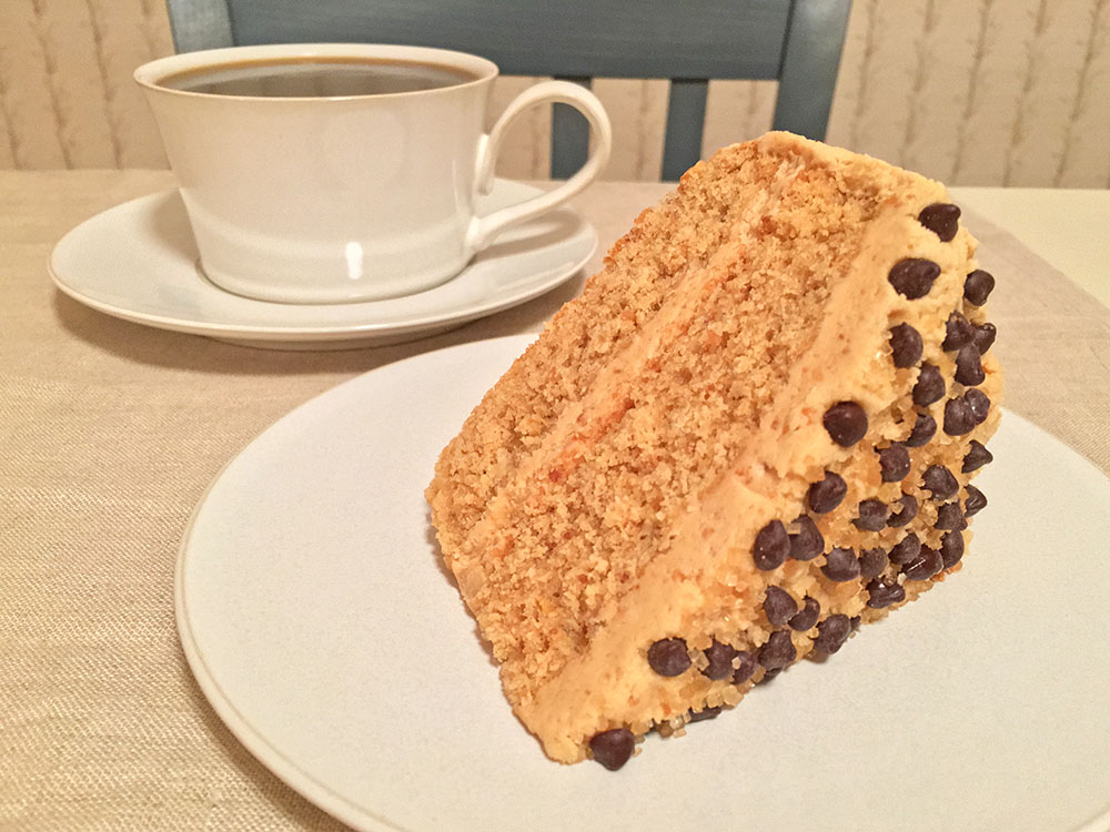 Plantation Peanut-Butter Cake