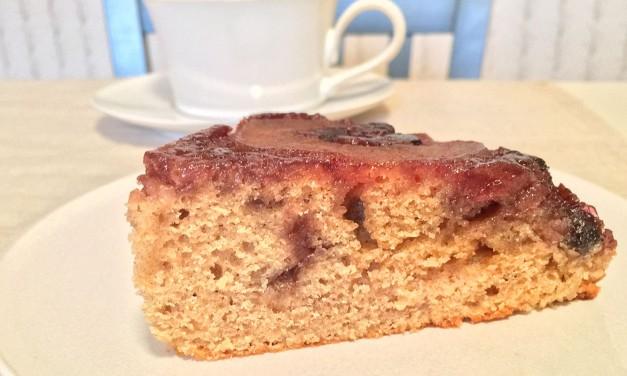 Apple-Maple Upside-Down Cake