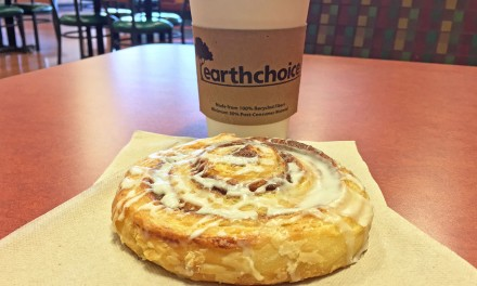 Earth Fare Cinnamon Roll