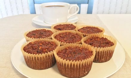 Flourless Morning Glory Muffins