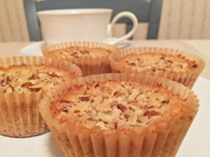 Pecan Pie Muffins and Coffee