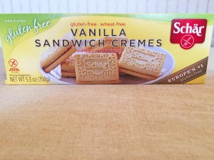Schar Vanilla Sandwich Cremes Box