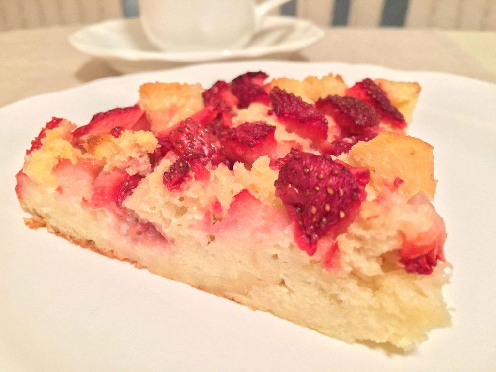 Strawberry Bread Pudding | 5 O'Clock Coffee Club