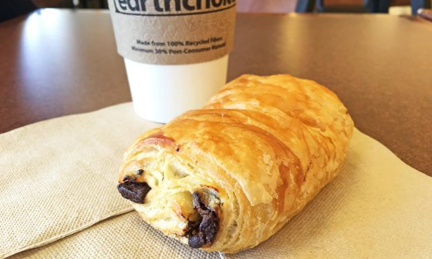 Earth Fare Chocolate Croissant