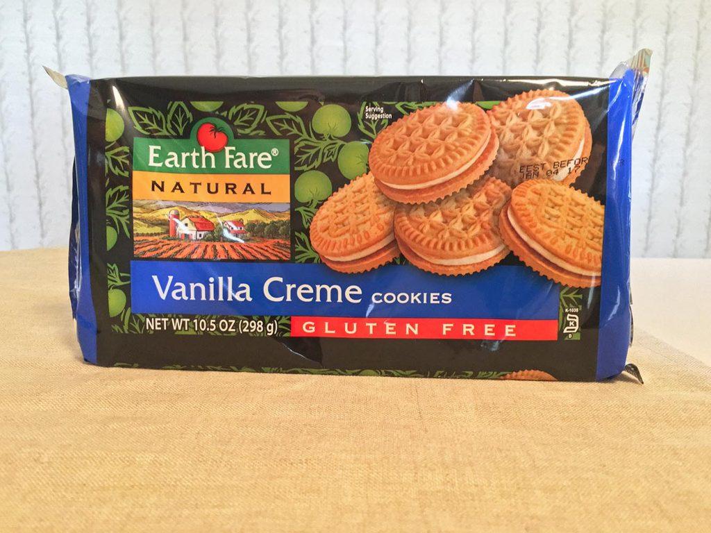 Earth Fare Gluten Free Vanilla Sandwich Cremes