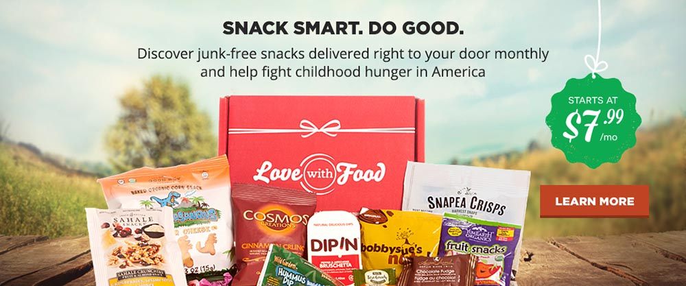 Love With Food Organic Food Subscription
