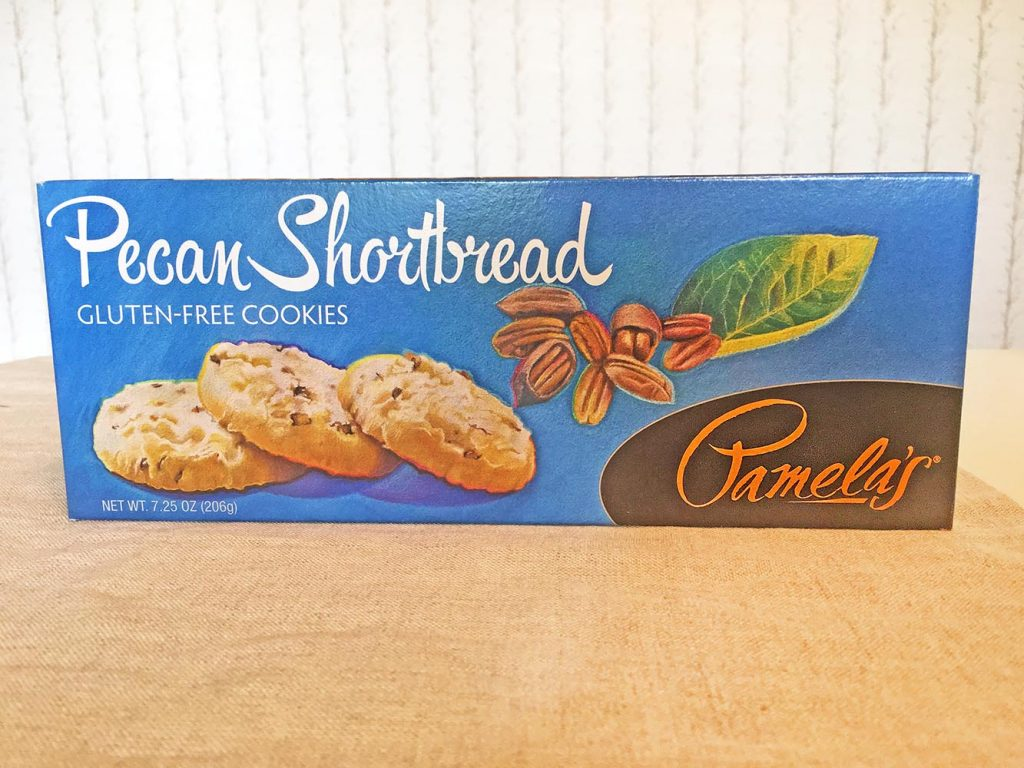 Pamela's Pecan Shortbread Cookies Box