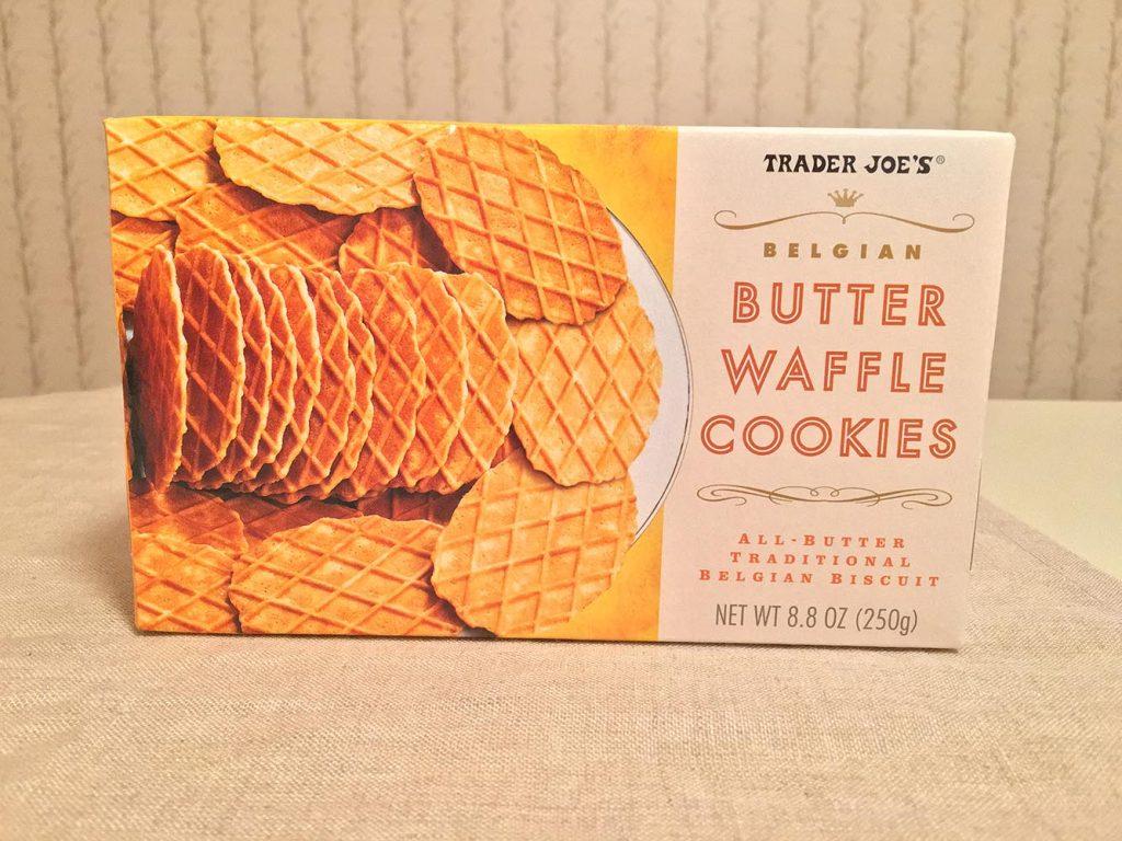 Trader Joe's Belgian Butter Waffle Cookies Box