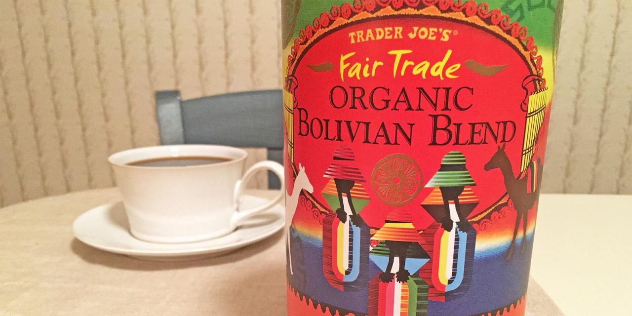 Trader Joe's Organic Bolivian Blend Coffee