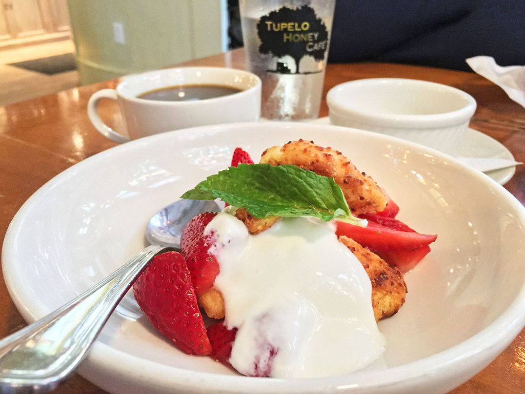 Tupelo Honey Cafe Strawberry Shortcake