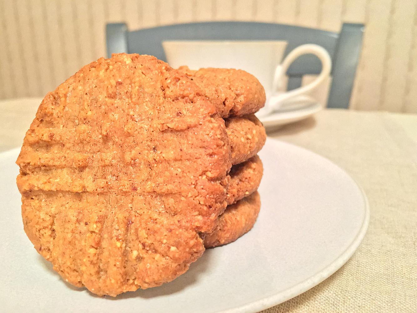 3 Ingredient Almond Butter Cookies