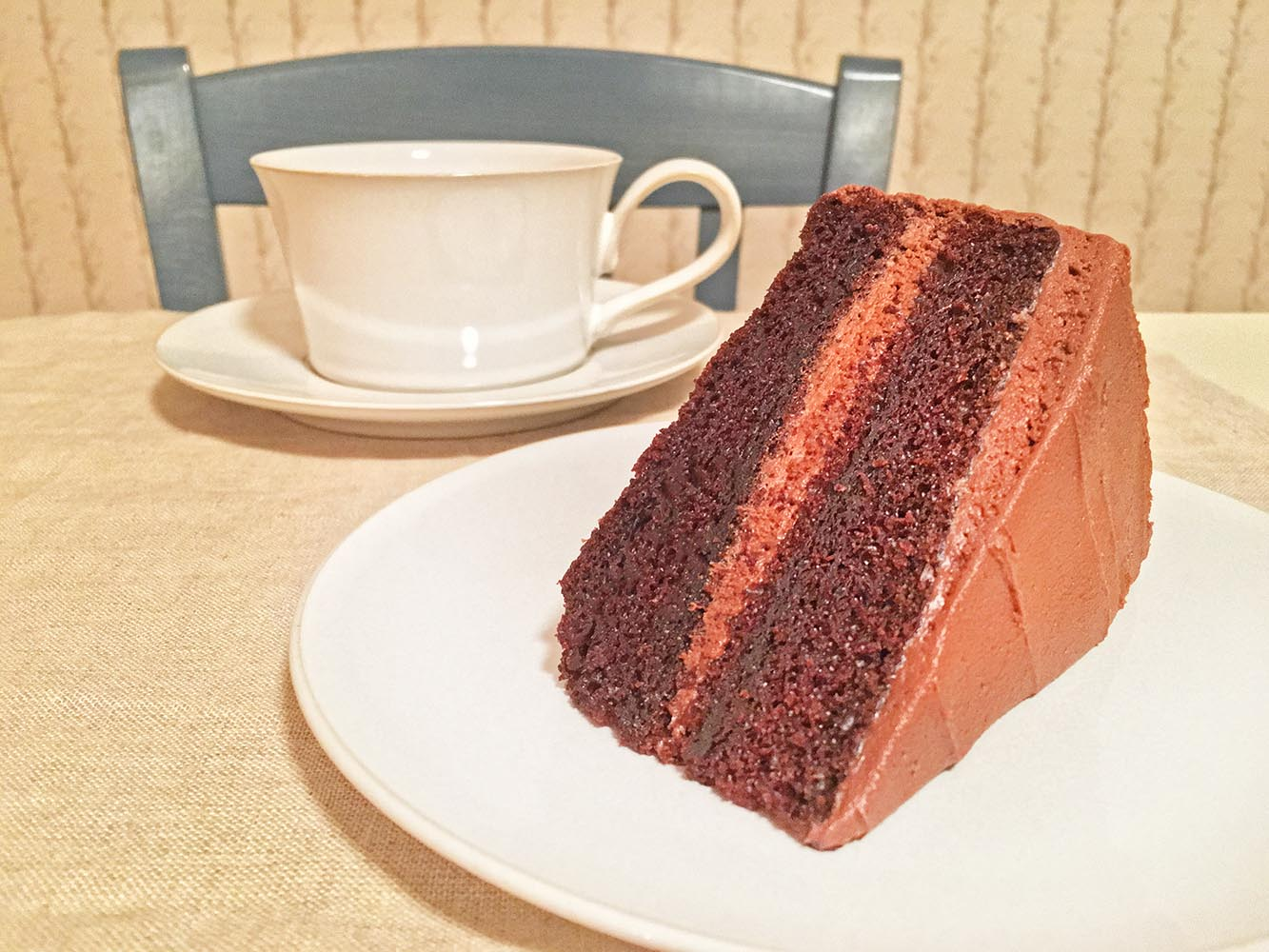 """""""Double Chocolate Layer Cake"""" from 5 O'Clock Coffee Club"""