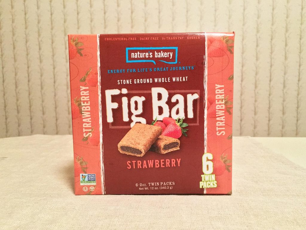 Nature's Bakery Strawberry Fig Bar Box