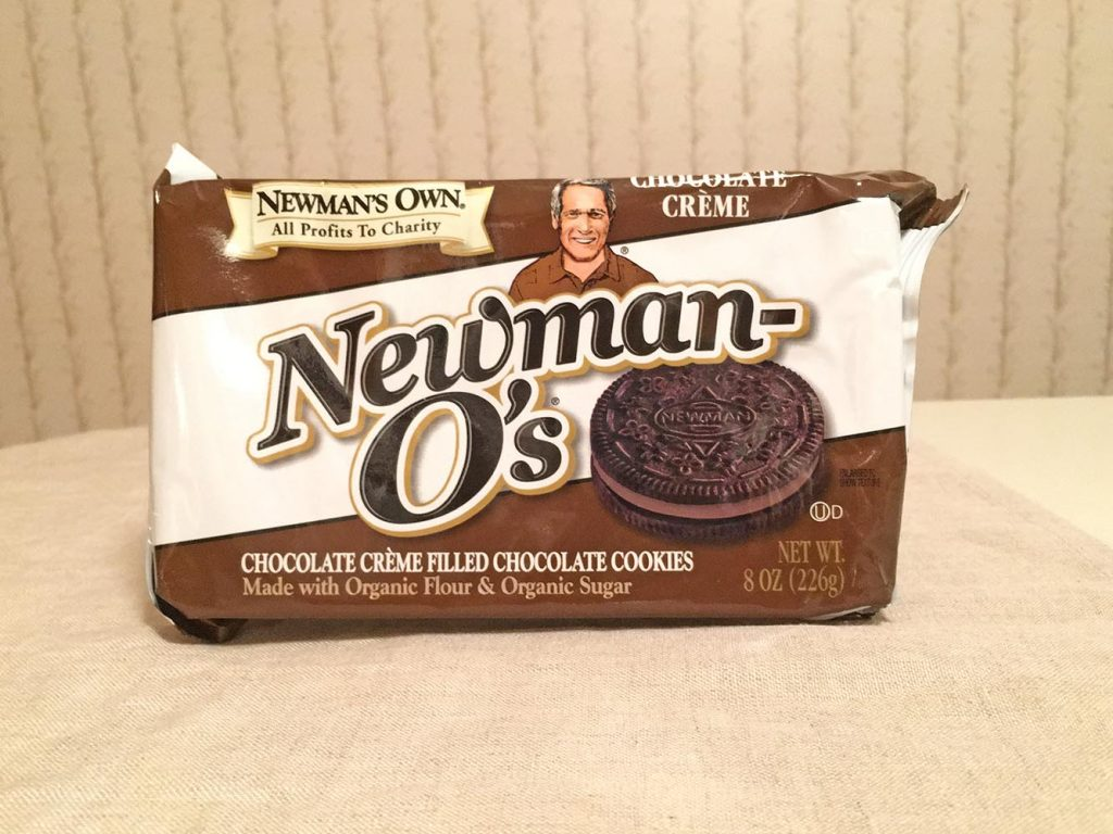 Newman's Own Chocolate Creme Filled Chocolate Cookies