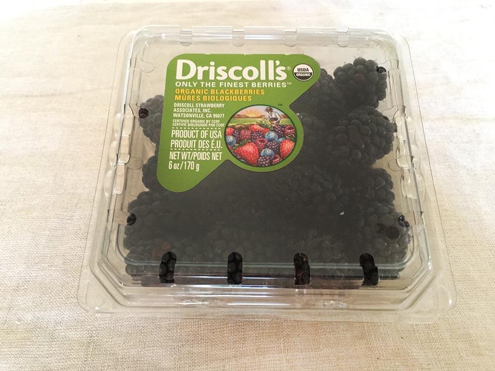 Driscolls Organic Blackberries