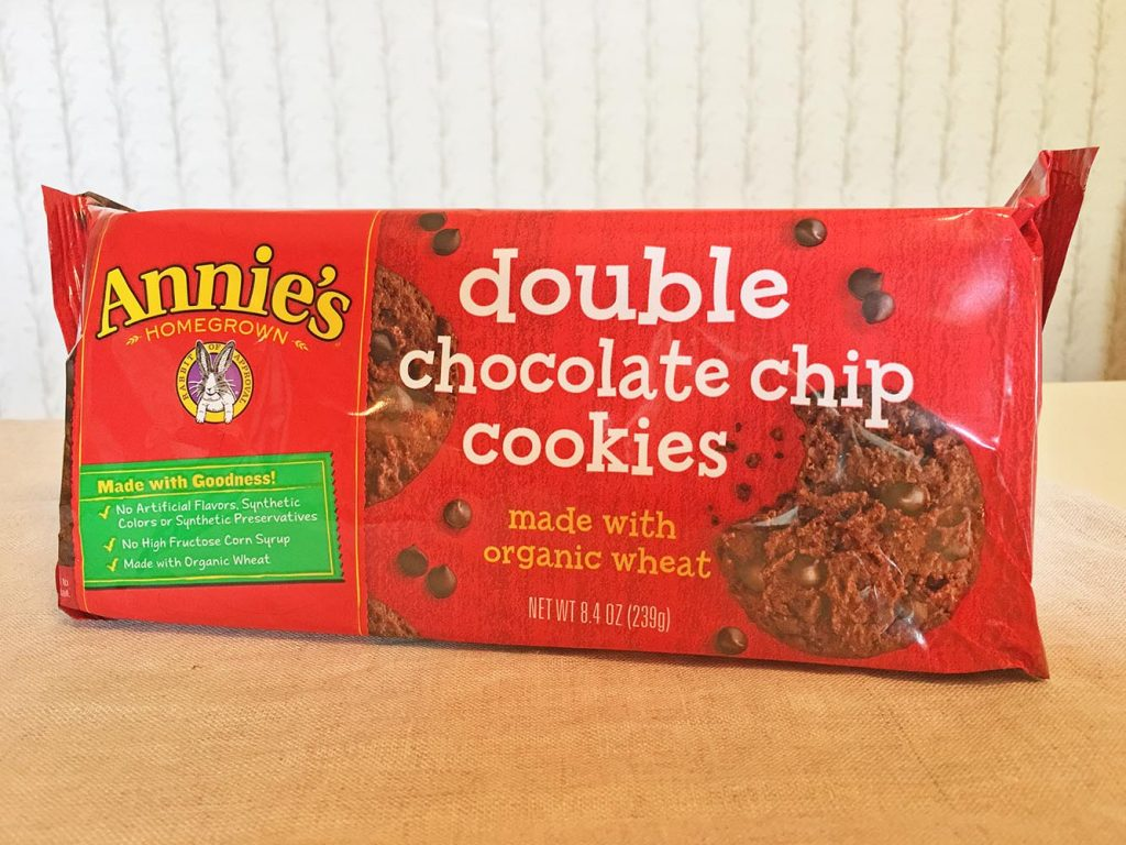 Annie's Double Chocolate Chip Cookies Bag