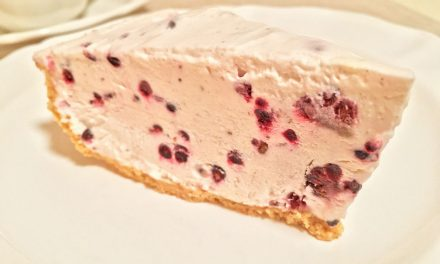 Blackberry Frozen No-Bake Pie