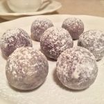 Blueberry White Chocolate Truffles