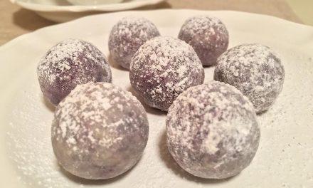Blueberry White Chocolate Truffles