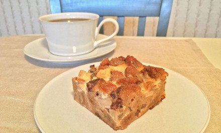 Apple Bread Pudding