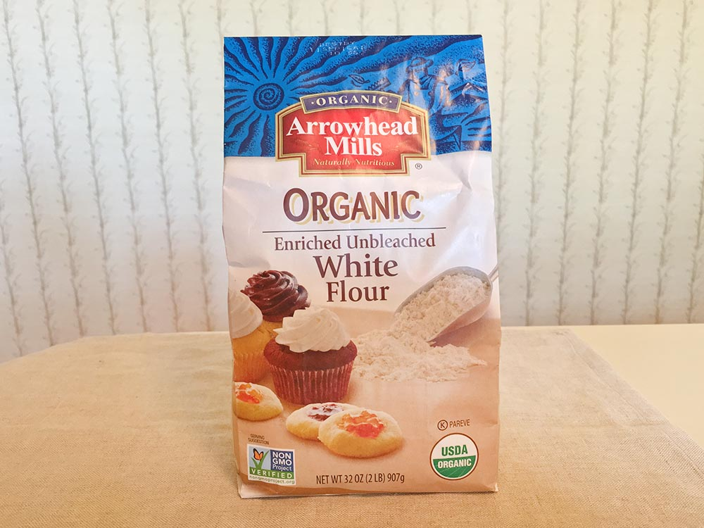 Arrowhead Mills Organic Unbleached White Flour