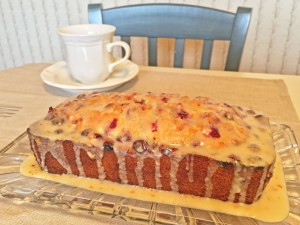 Cranberry-Orange Christmas Bread
