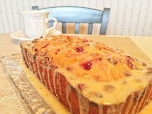 Cranberry-Orange Christmas Bread