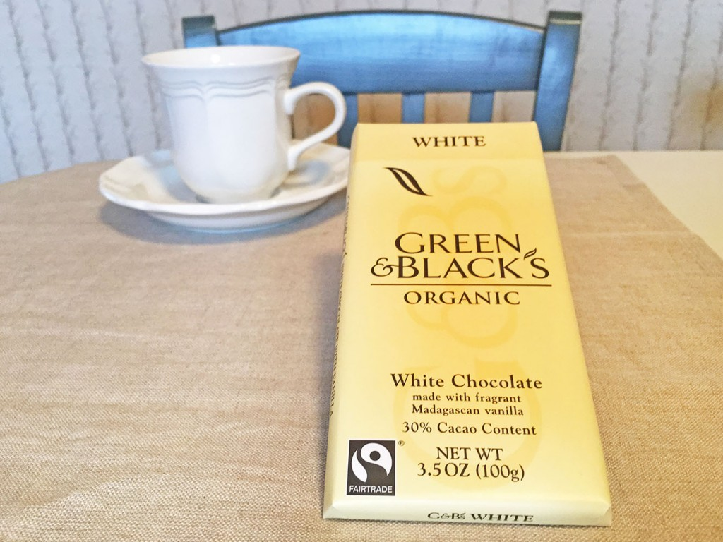 Green & Blacks Organic White Chocolate Bar
