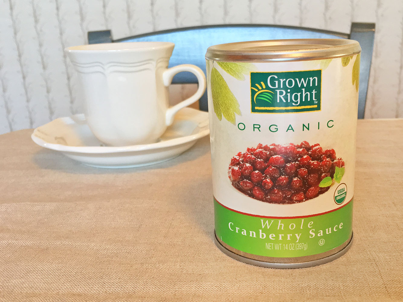 Grown Right Organic Cranberry Sauce
