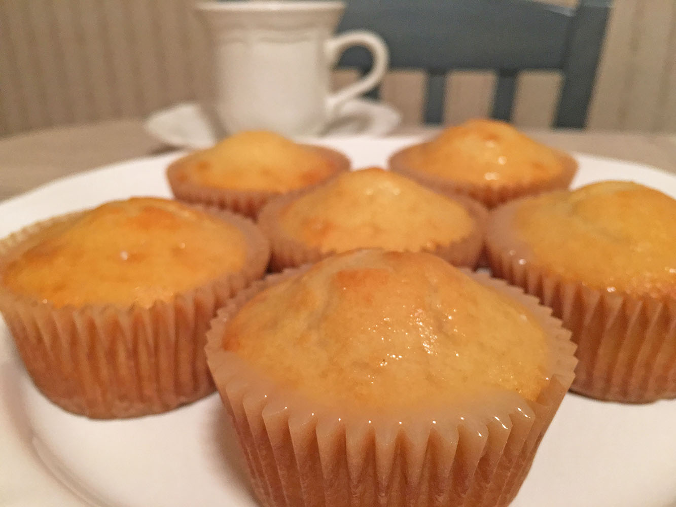Lemon Muffins with Coffee