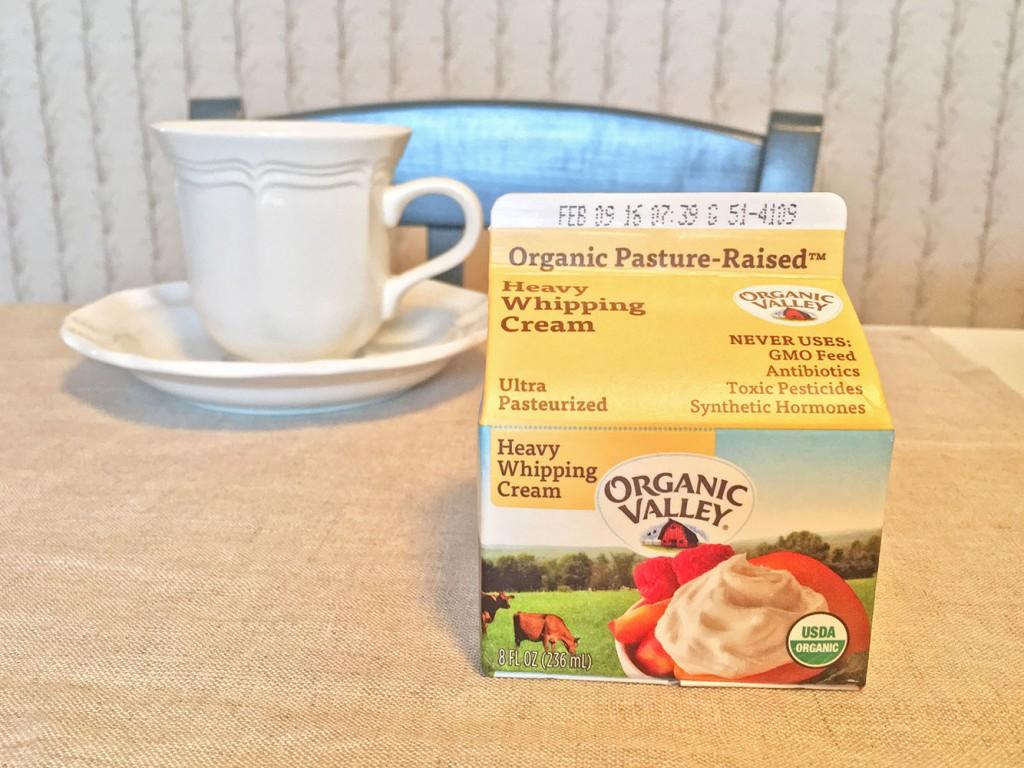 Organic Valley Whipping Cream