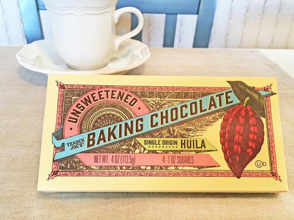 Trader Joe's Unsweetened Baking Chocolate