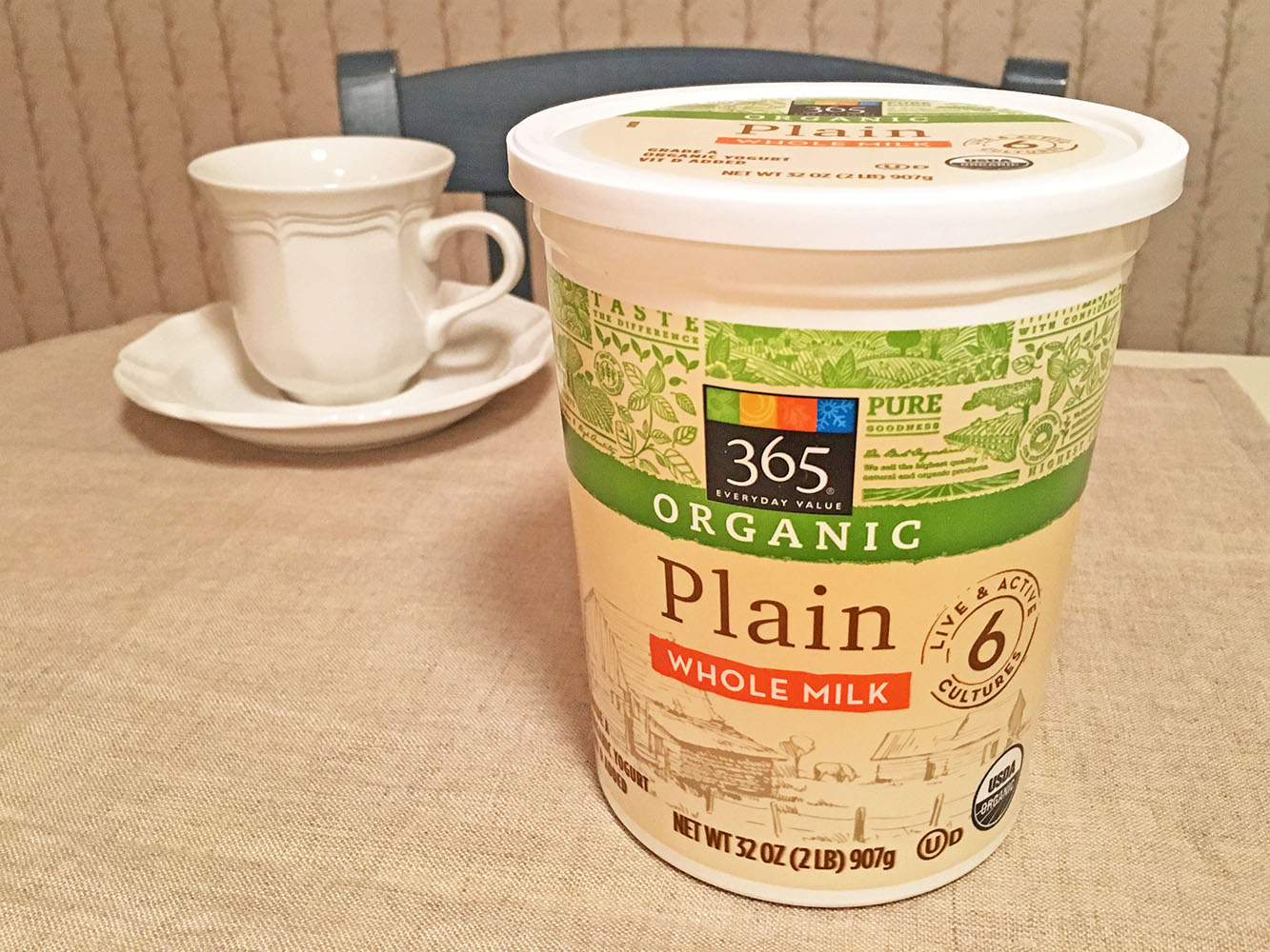 Whole Foods 365 Organic Yogurt