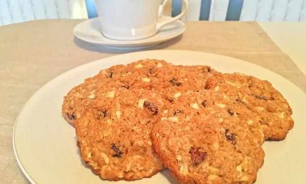 Apple-Oatmeal Cookies